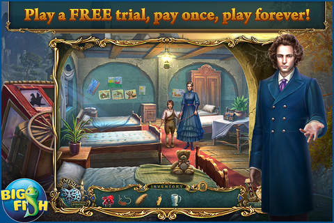Haunted Legends: The Stone Guest - A Hidden Object - náhled