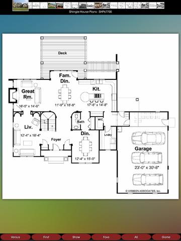 Shingle House Plans screenshot 6