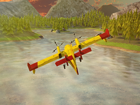 Airplane Firefighter Simulator PRO - Full 3D Fire & Rescue Firefighting Version screenshot 9