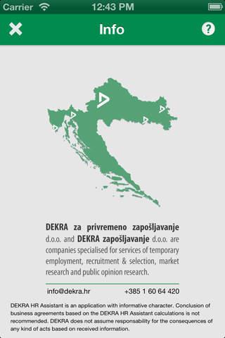 DEKRA HR Assistant - náhled