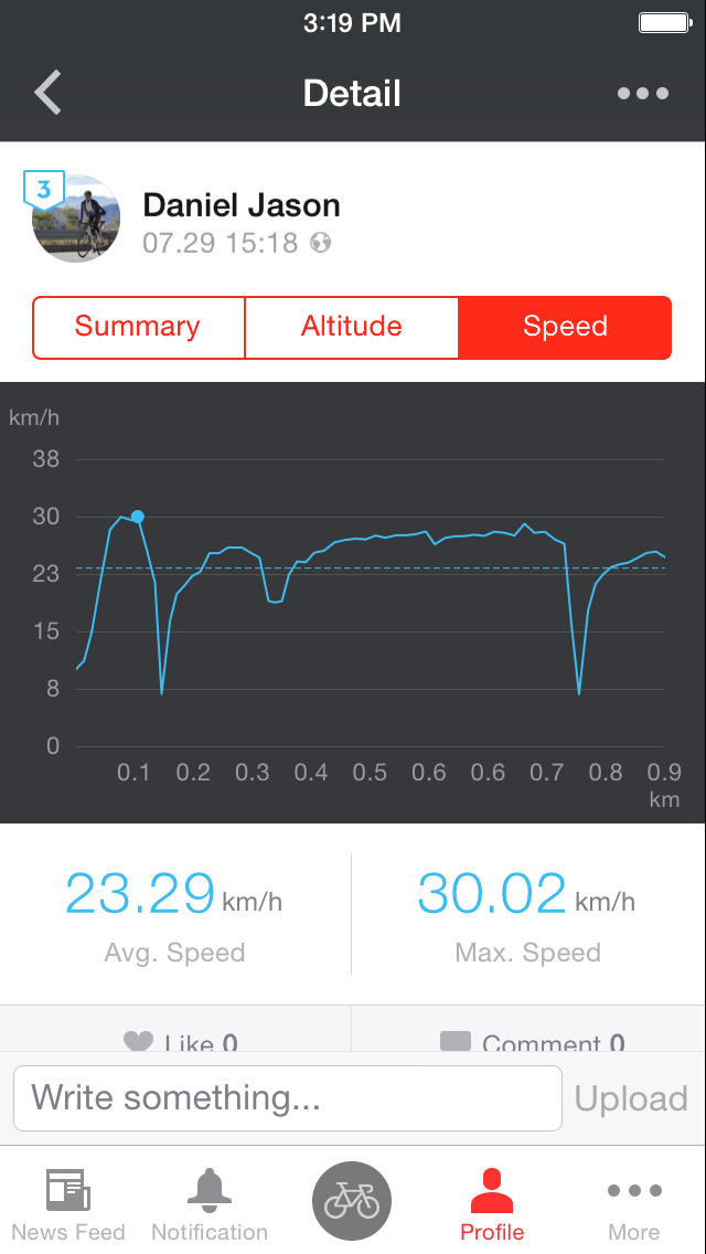 Pocket Runner GPS - Run Cycle screenshot 3