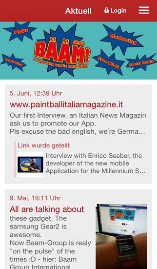Baam Group International screenshot 1