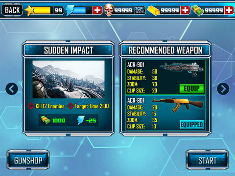 Legend Sniper 3D screenshot 9