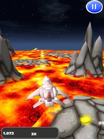 A Spaceship Galaxy: 3D Space Flight Game - FREE Edition screenshot 6