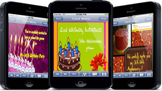 The Ultimate Invitation eCards - Customize and Send Invitation eCards with Invitation Text and Voice Messages screenshot 5