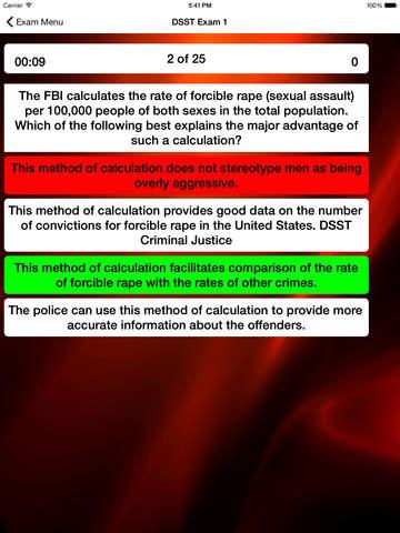 DSST Criminal Justice Prep screenshot 8