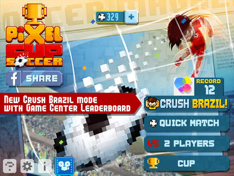Pixel Cup Soccer screenshot 7