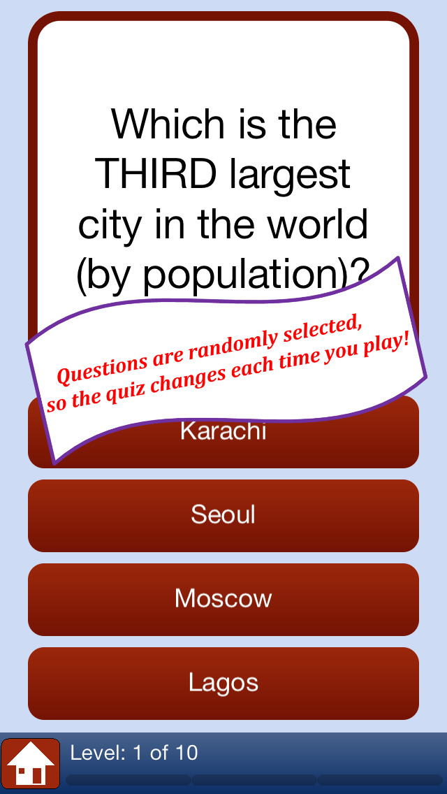 Geography Quiz Game: Geo Facts of The World | Apps | 148Apps