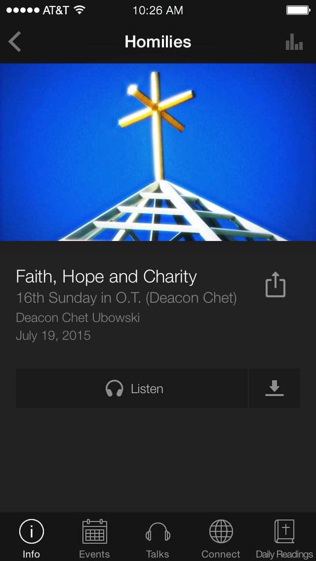The Cabrini App screenshot 3
