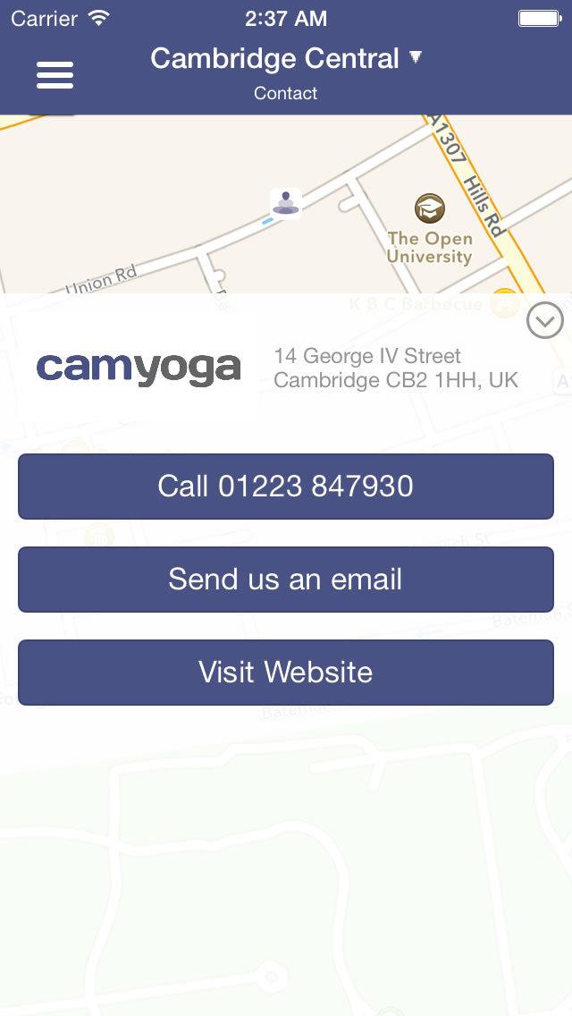 Camyoga screenshot #1