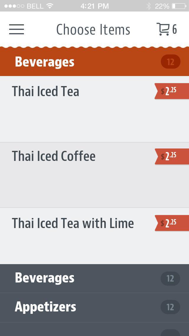 Taste of Thai Express screenshot 3