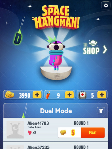 Space Hangman: Aliens Go Crazy screenshot 8