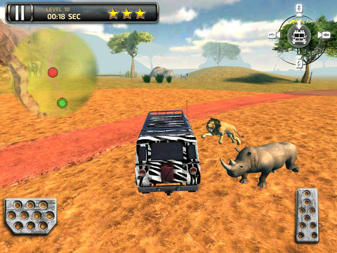 3D Safari Parking PRO - Full Wildlife Explorer Lion and Elephant Simulator Version screenshot 6