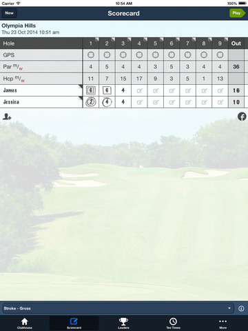 Olympia Hills Golf screenshot 9