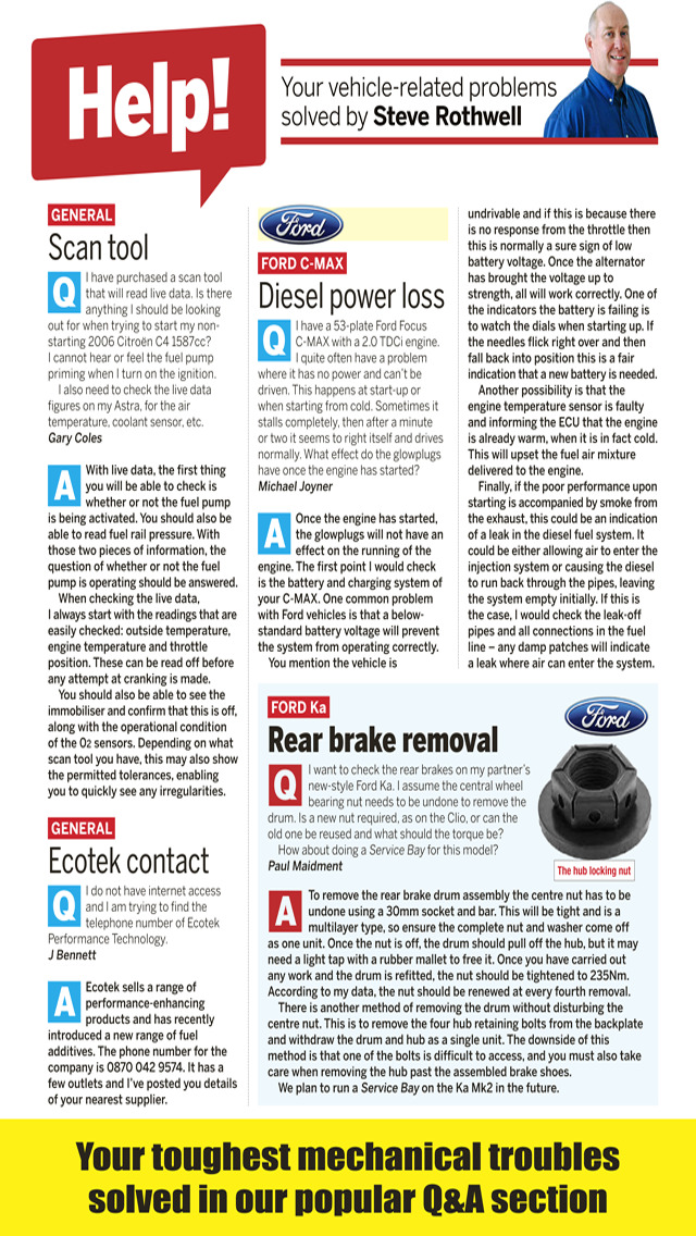 Car Mechanics Magazine screenshot 3