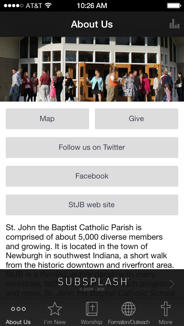 St. John the Baptist Newburgh screenshot 1