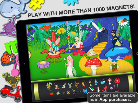 ABC - Magnetic Alphabet Lite for Kids screenshot 2