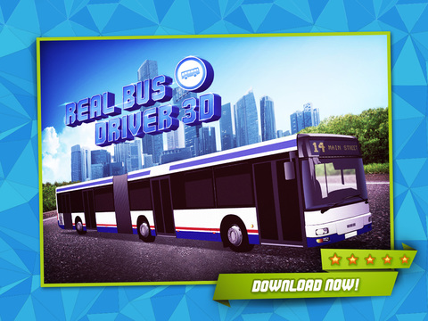 Real Bus Driver 3D - Realistic City Traffic & Car Driving Simulator screenshot 6