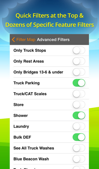 Truck Stops & Travel Plazas screenshot 3