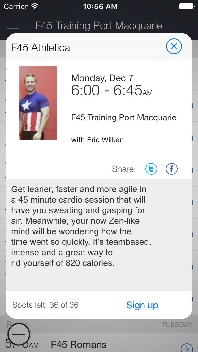 F45 Training Port Macquarie screenshot 2