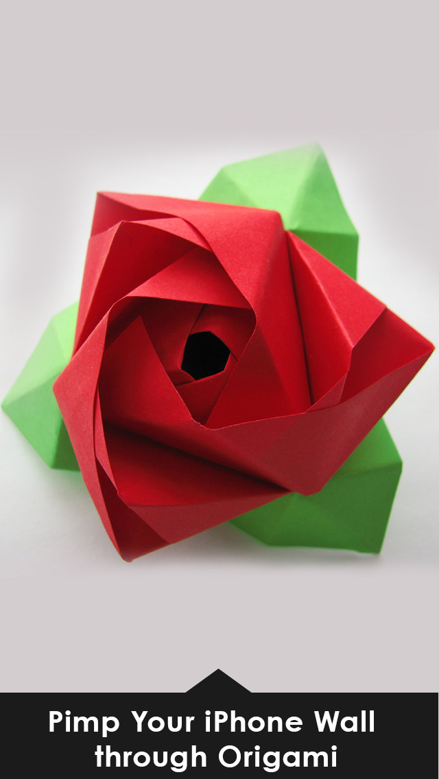 Origami wallpapers HD - Amazing Aart Backgrounds screenshot 2