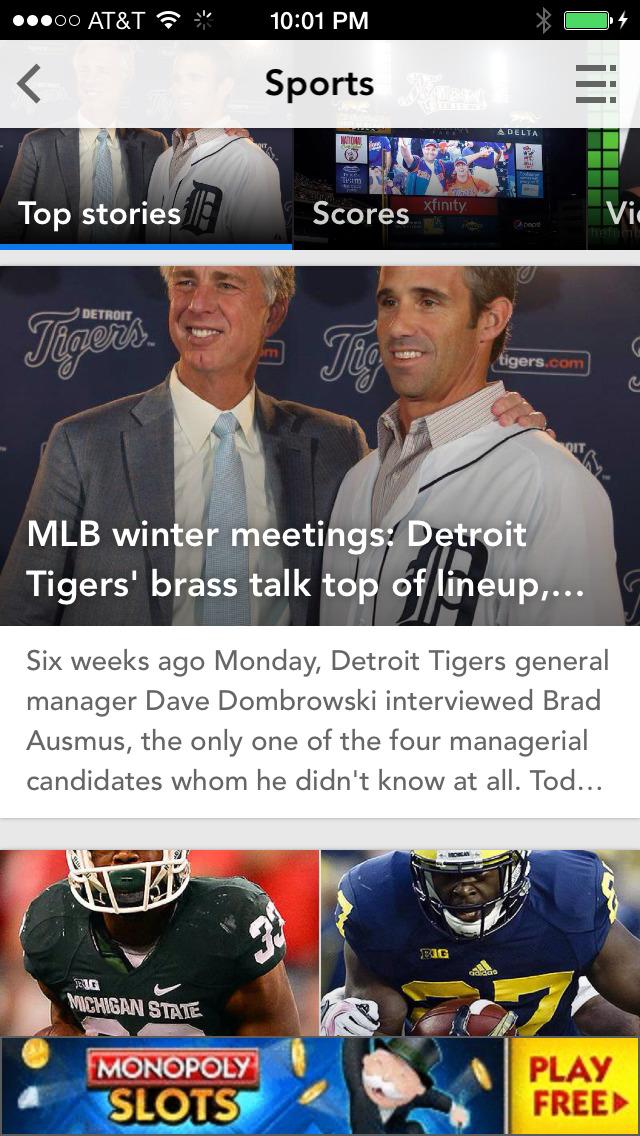 Detroit Free Press screenshot 2