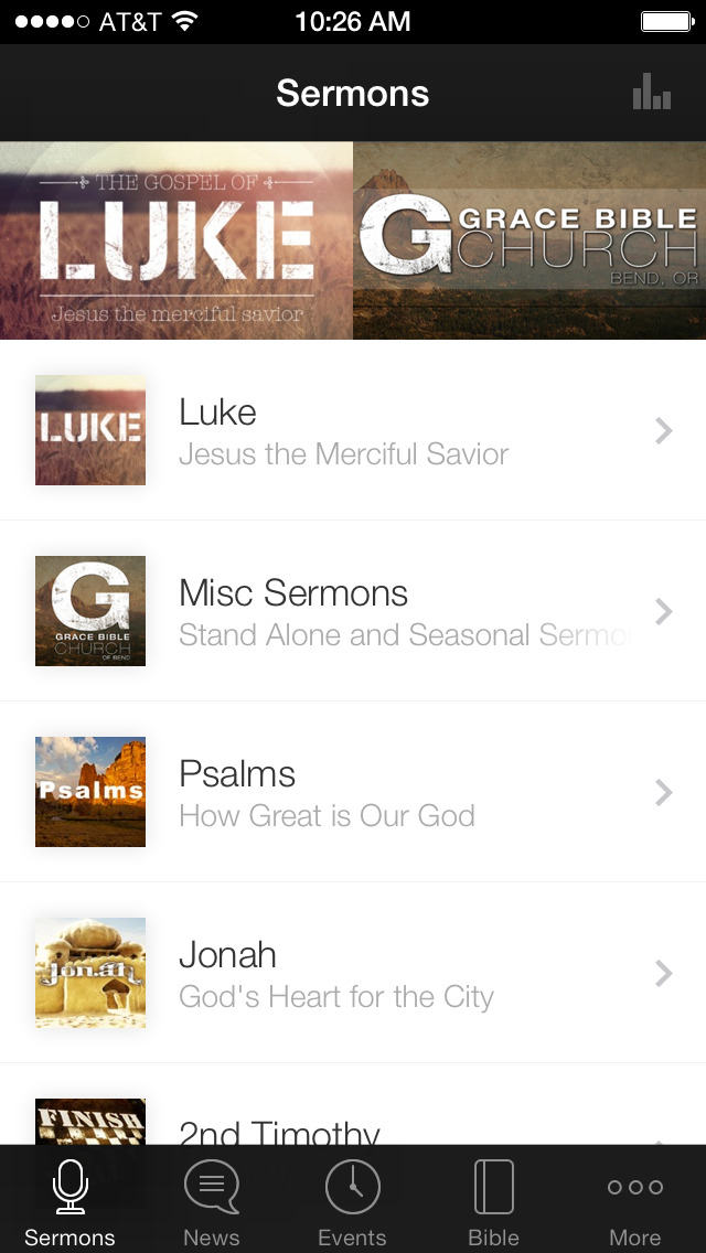 Grace Bible Church of Bend screenshot 1
