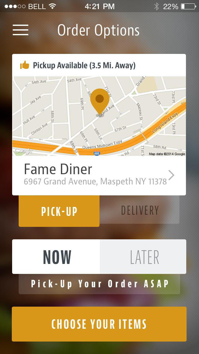 Fame Diner screenshot 2