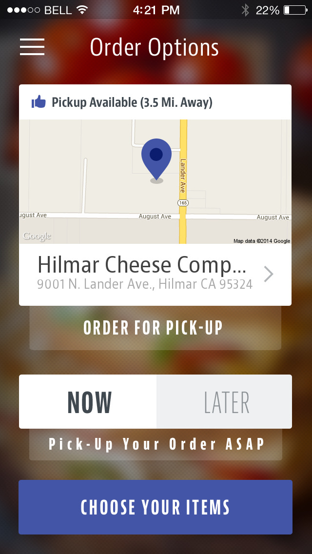 Hilmar Cheese Company Cafe screenshot 2