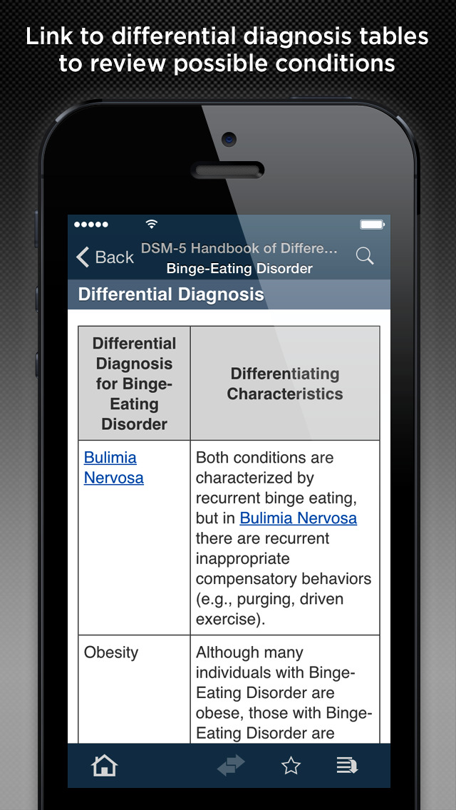 DSM-5™ Differential Diagnosis screenshot 4