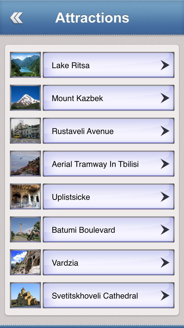 Georgia Essential Travel Guide screenshot 3