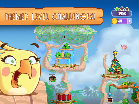 Angry Birds Slingshot Stella screenshot 8