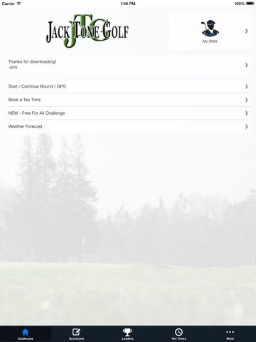 Jack Tone Golf screenshot 7