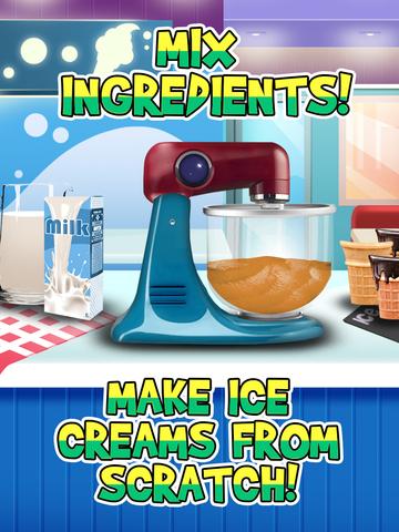 Awesome Ice Cream Parlor Maker - Frozen Jelly Dessert screenshot 7