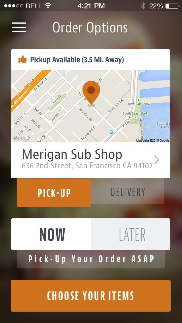 Merigan Sub Shop screenshot 2