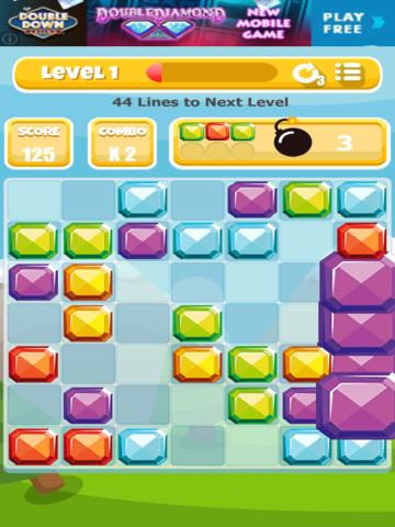 A Gem Mine: Jewel Match Line Puzzle - Pro Edition screenshot 8