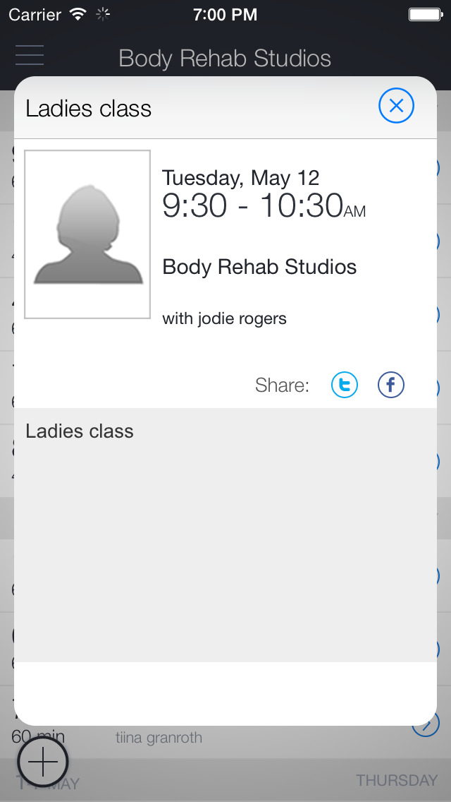 Body Rehab Studios screenshot 2