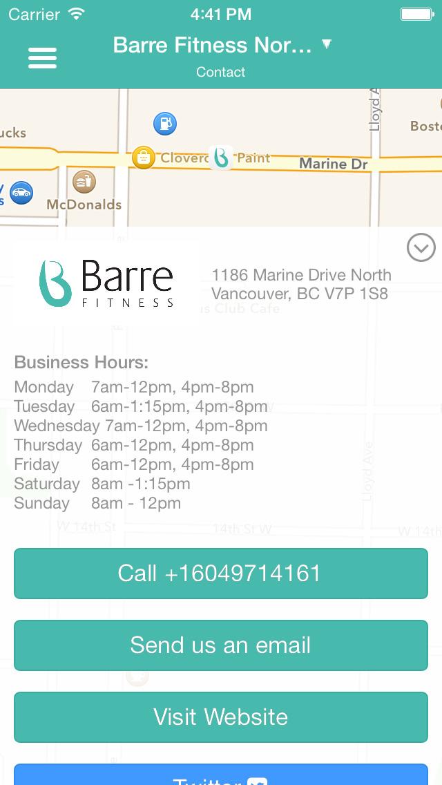 Barre Fitness screenshot #4