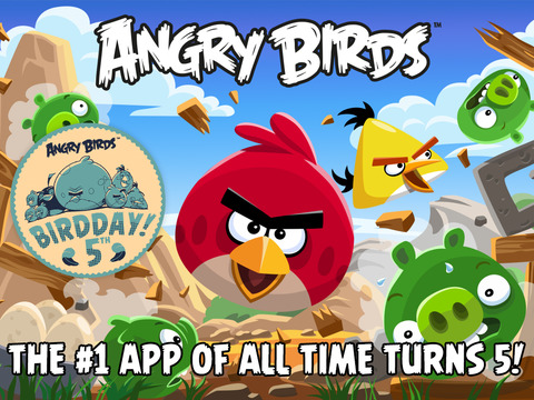 Angry Birds HD screenshot #1