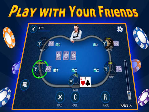 Poker - Texas Holdem HD Poker by BL Games with Poker Tournaments screenshot 6