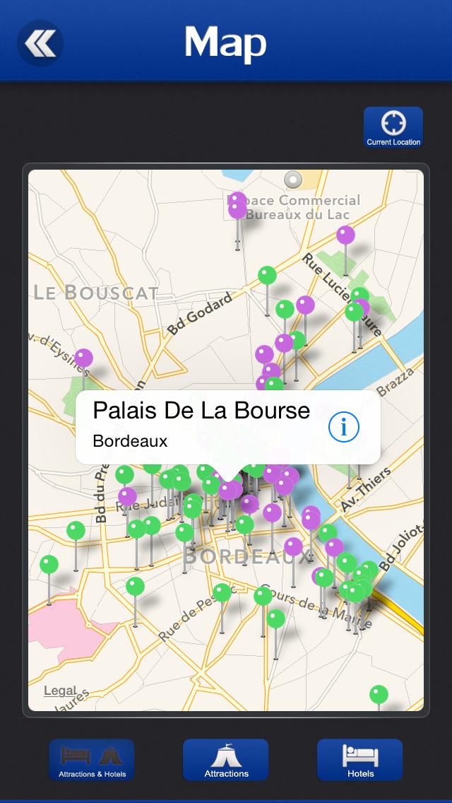 Bordeaux Offline Travel Guide screenshot 4