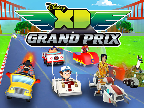 Disney XD Grand Prix screenshot #1