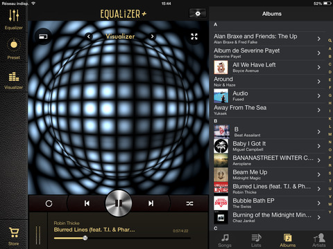 Equalizer+ HD music player screenshot 7