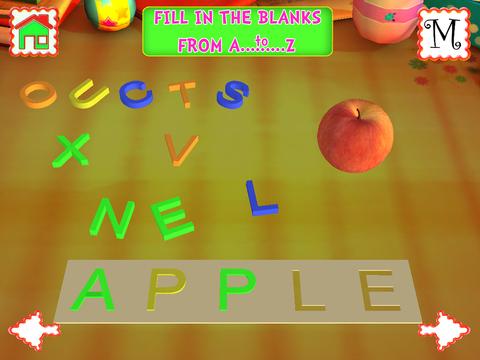 Kids ABC 3D Lite- Educational Games for Kids screenshot 9