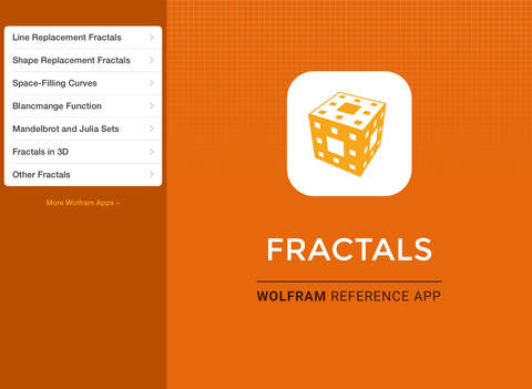 Wolfram Fractals Reference App screenshot 6