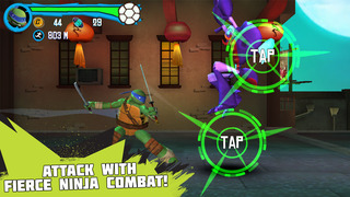 Teenage Mutant Ninja Turtles: Rooftop Run screenshot 5