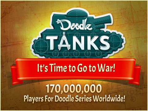 Doodle Tanks™ Gears HD screenshot 1
