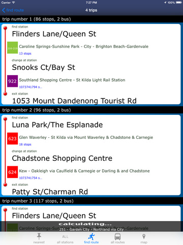 Melbourne Buses screenshot 5