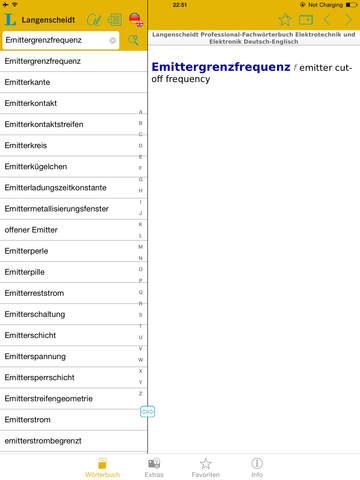 Elektrotechnik und Elektronik Englisch<->Deutsch Fachwörterbuch Professional screenshot 10