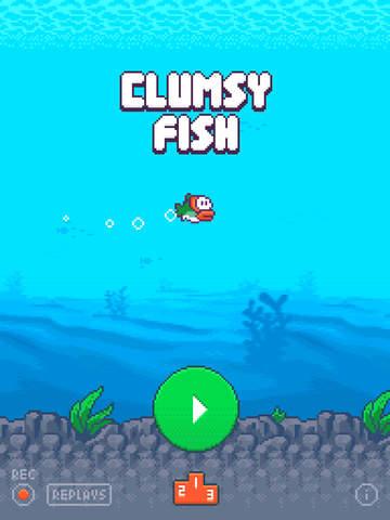 Clumsy Fish screenshot 4